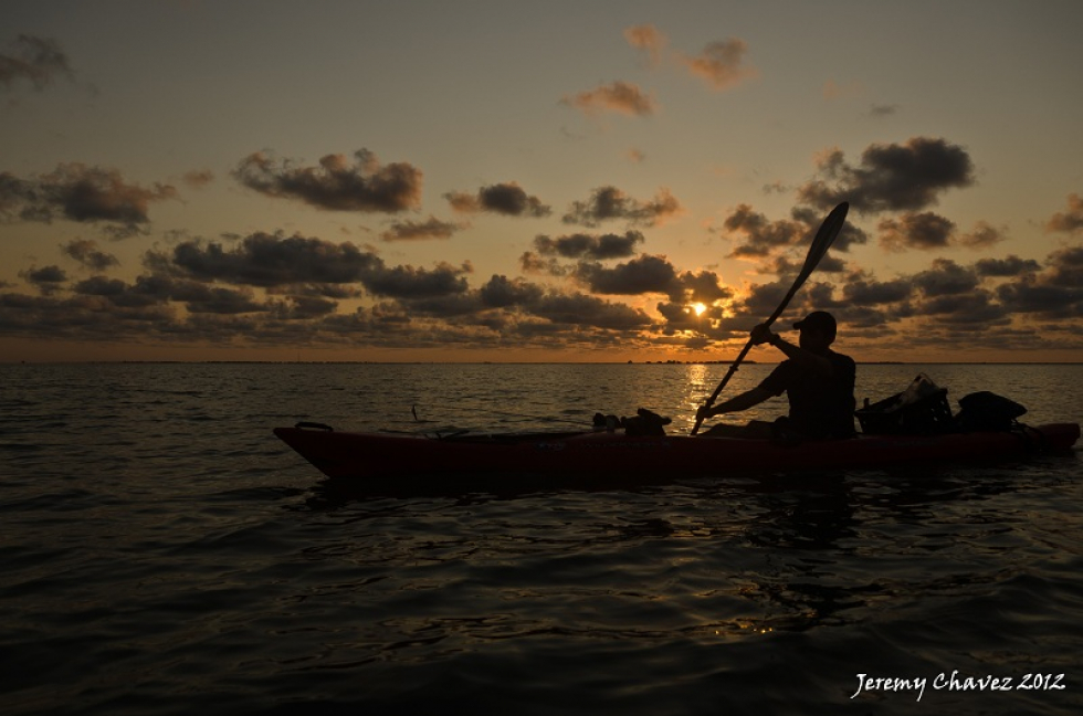 Photo of the Week…Last Paddle