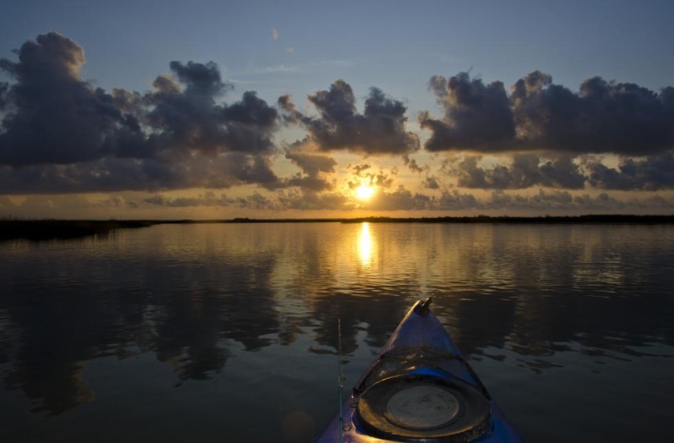 Hot Fishing and Waterlogged Boat