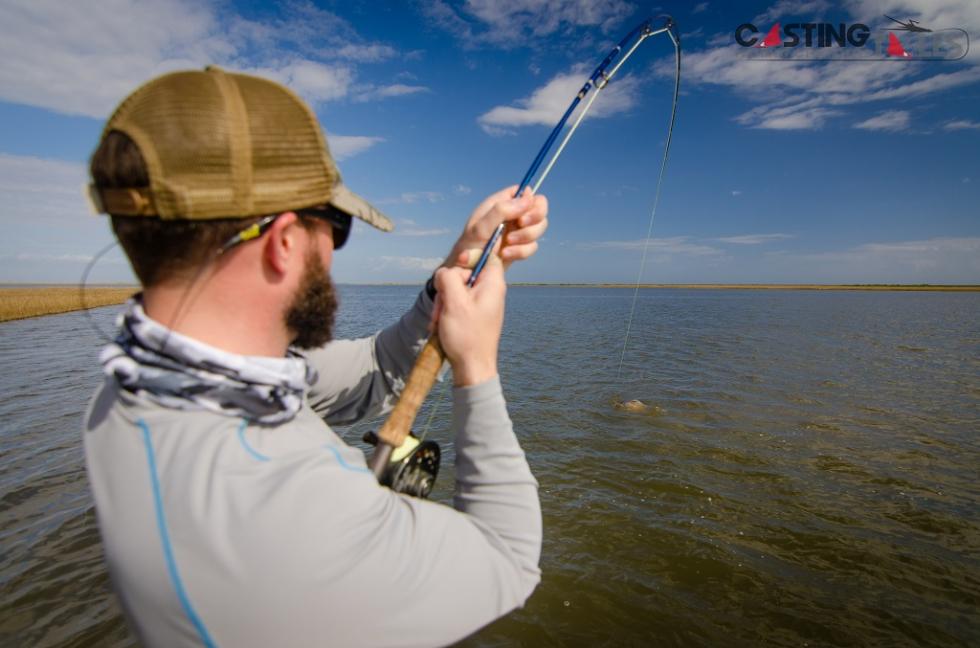 Louisiana Black Drum Fly Fishing