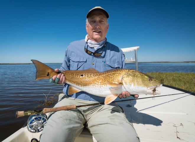 Galveston Bay Marsh Redfish