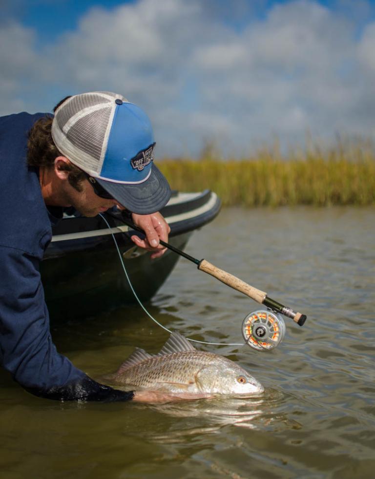Galveston Redfish Skiff Charter