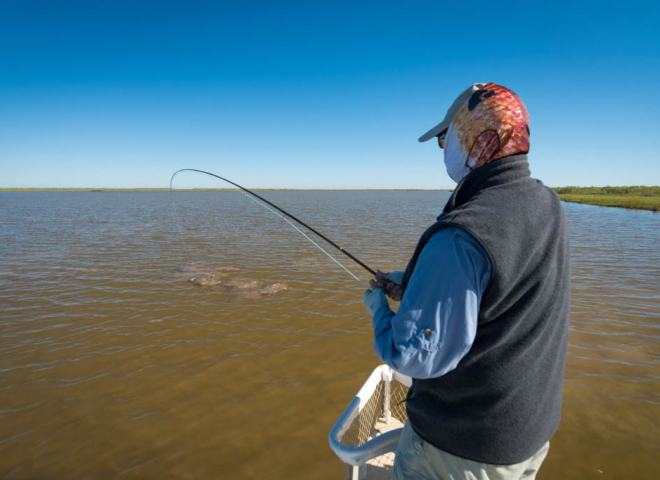 Galveston Bay Clear Water Redfish