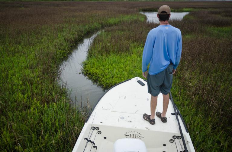 Galveston Marsh Creek