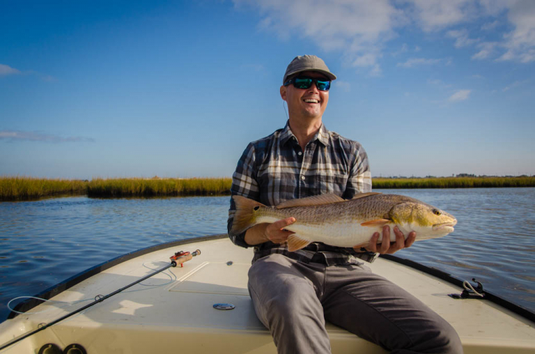 Galveston Hell's Bay Waterman Redfish
