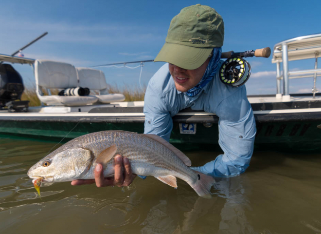 Galveston Orvis Redfish Fly Fishing