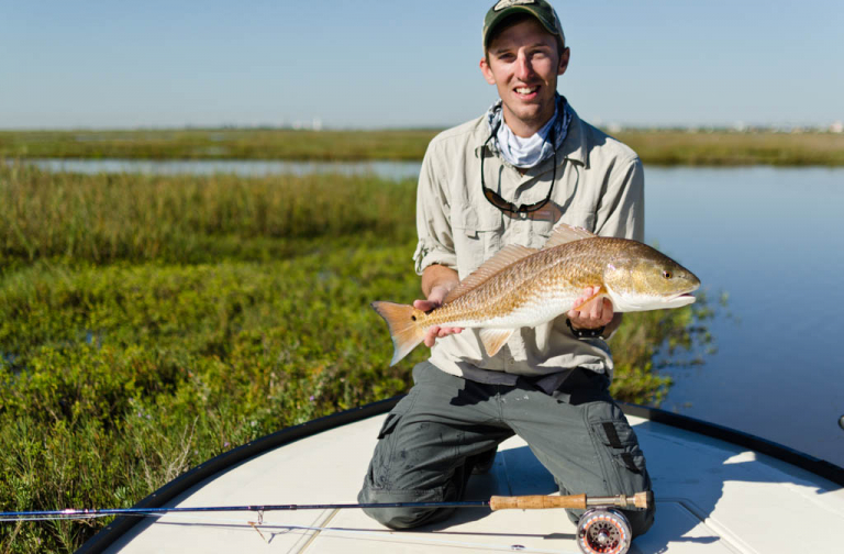 Galveston Marsh Skiff Redfish