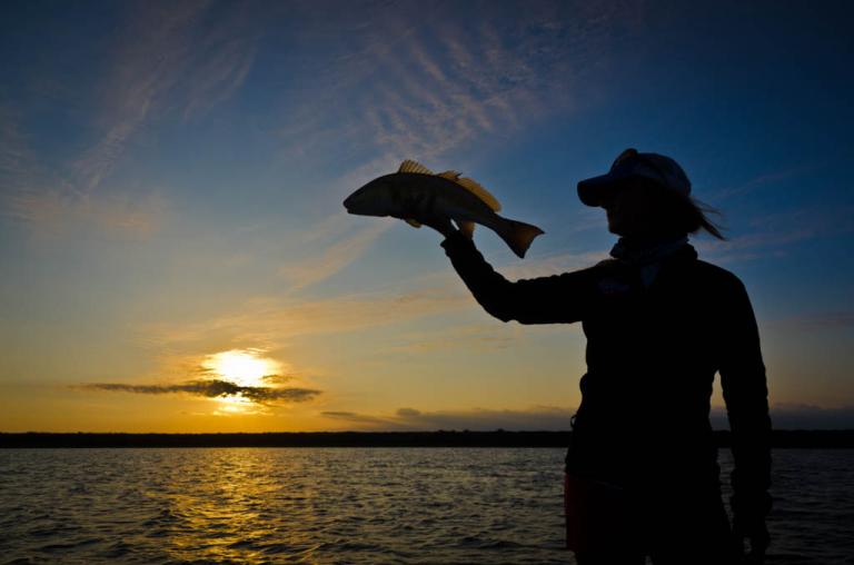 Galveston Sunrise Redfish