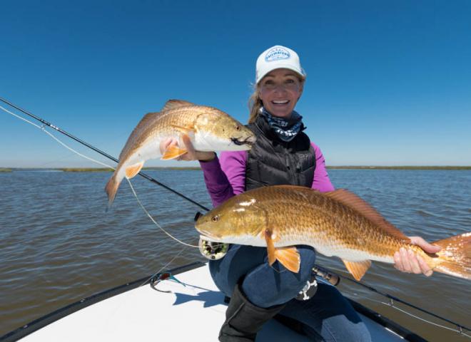 Galveston Redfish Double