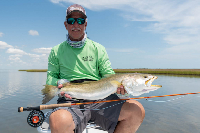 Galveston Bay Speckled Trout Fly Fishing
