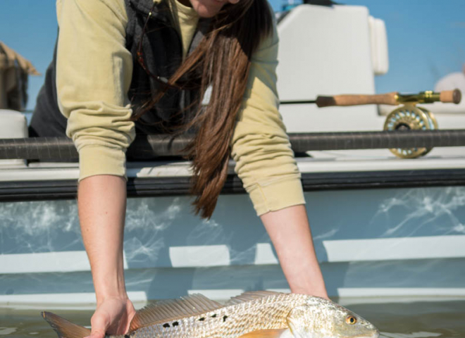 Galveston Fly Fishing Redfish