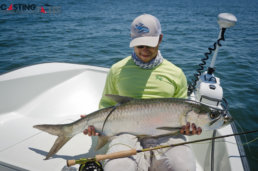 Tarpon casting tales for Fly fishing texas