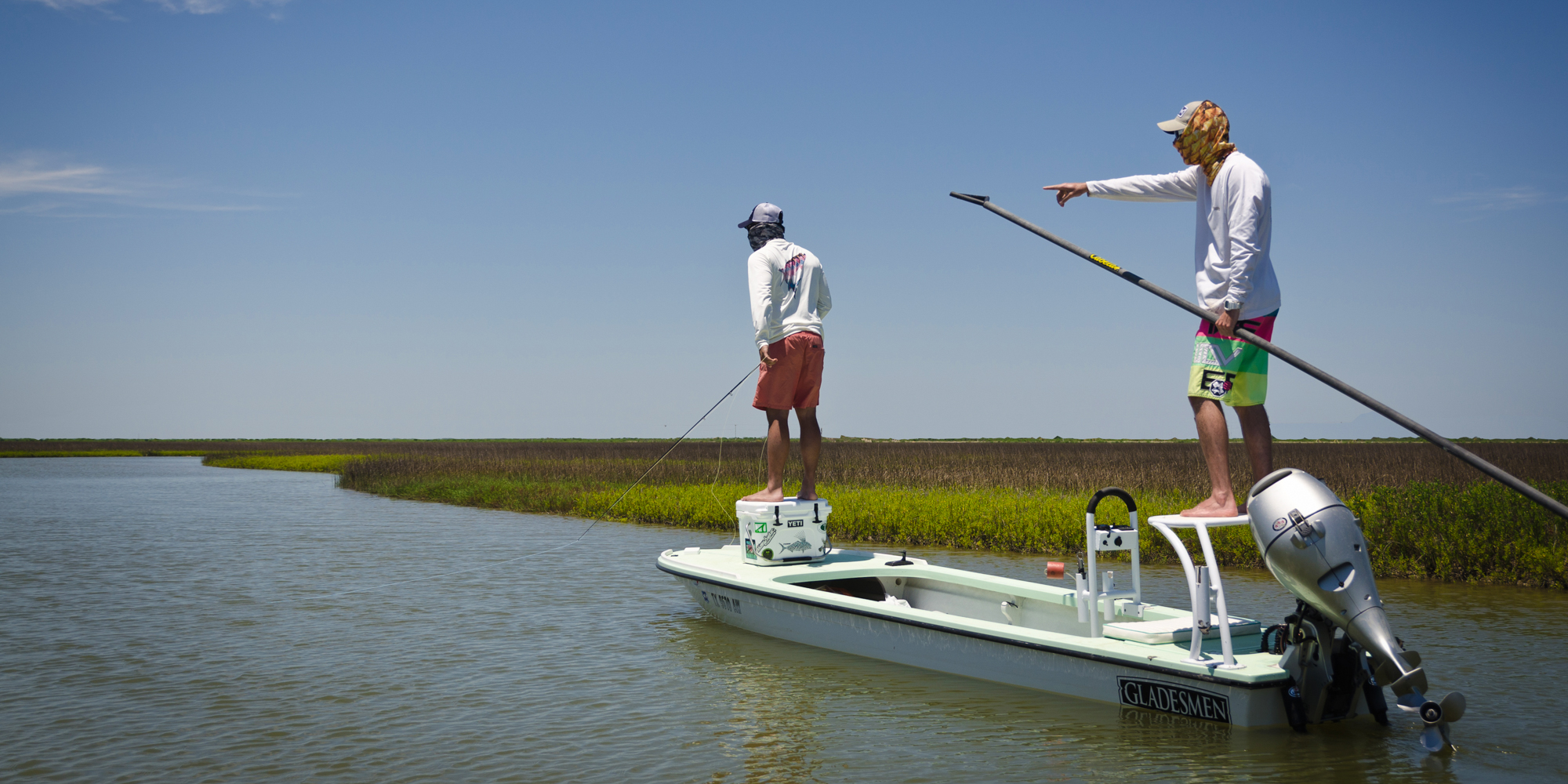 Rates booking for guided fishing trips casting tales for Fly fishing new orleans