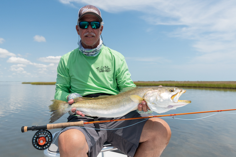 Galveston Bay Fly Fishing Report Speckled Trout Casting Tales Fishing Charters
