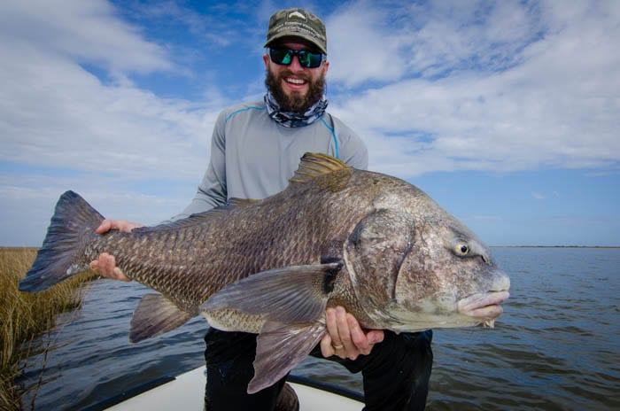 New Orleans Louisiana Black Drum Fly Fishing Guide